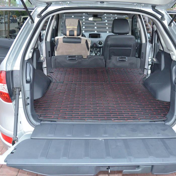 Free shipping for Renault Fluence trunk mat  Fluence Renault trunk mat Renault Fluence in  leather trunk mat  waterproof mats