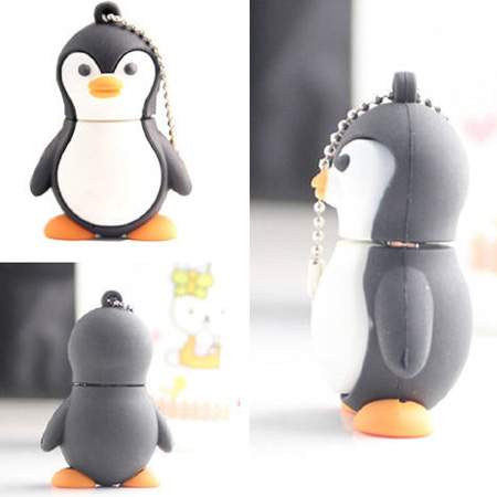 Manufacturers wholesale price 2014 New cartoon Lovely Penguinmodel 4-32GB usb 2.0 memory flash stick pen drive(China (Mainland))