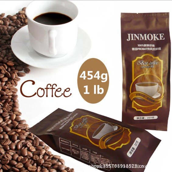 454g 1lb 100 Original Blue Mountain Coffee Beans High Quality Slimming Coffee the tea coffee slimming