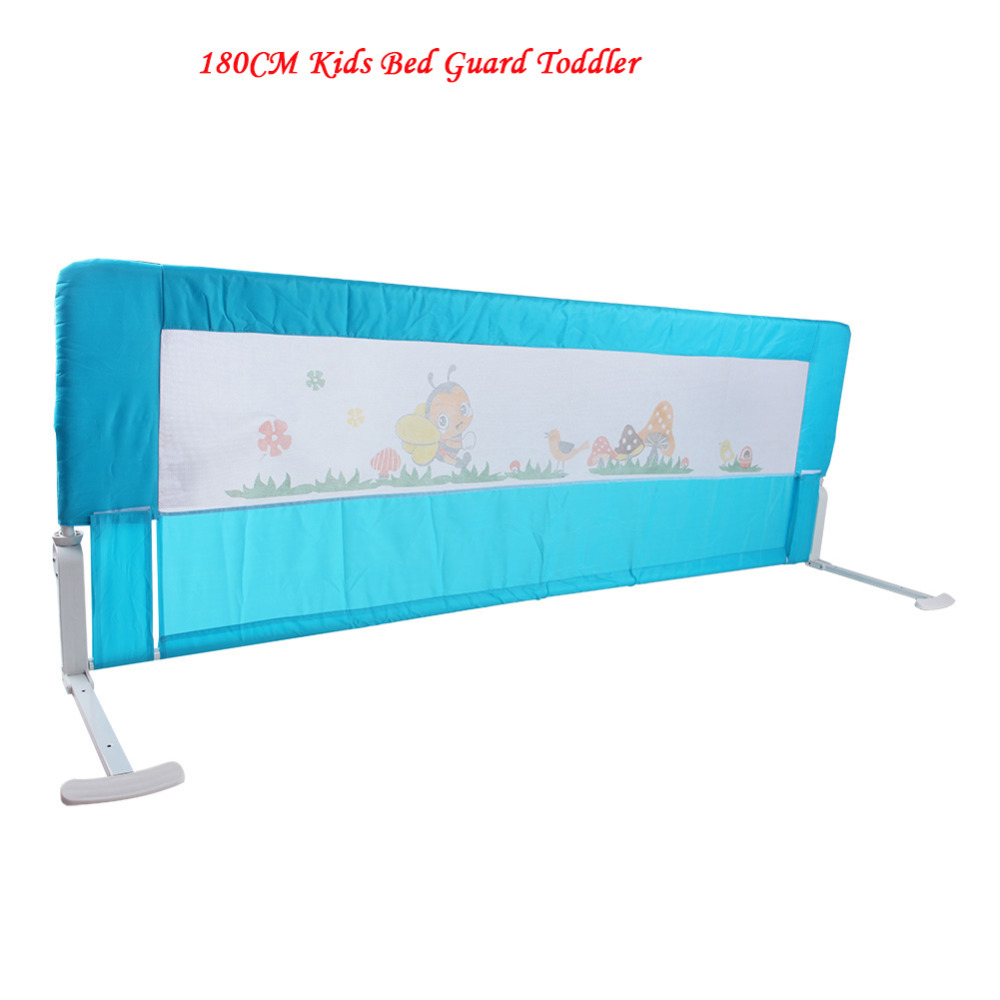 180cm Kids Bed Guard Toddler Safety Childs Bedguard Baby Folding Rail Protection Guards(Hong Kong)