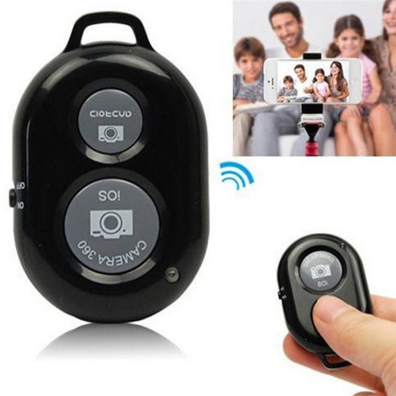 Wireless Bluetooth Self-Timer Shutter Release Camera Remote Controller for iPhone 5 6 for Samsung Smart android Phone Photograph