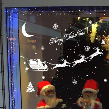 Горячая распродажа новый! Прибытие рождество наклейка наклейки домашнего декора
