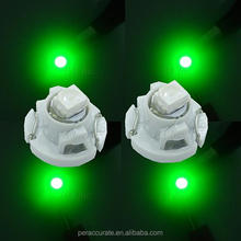 10PCS x Green SMD LED T3 3528 1SMD 1210 DC12V Climate Light Warning Indicator Dashboard Bulb(Taiwan)