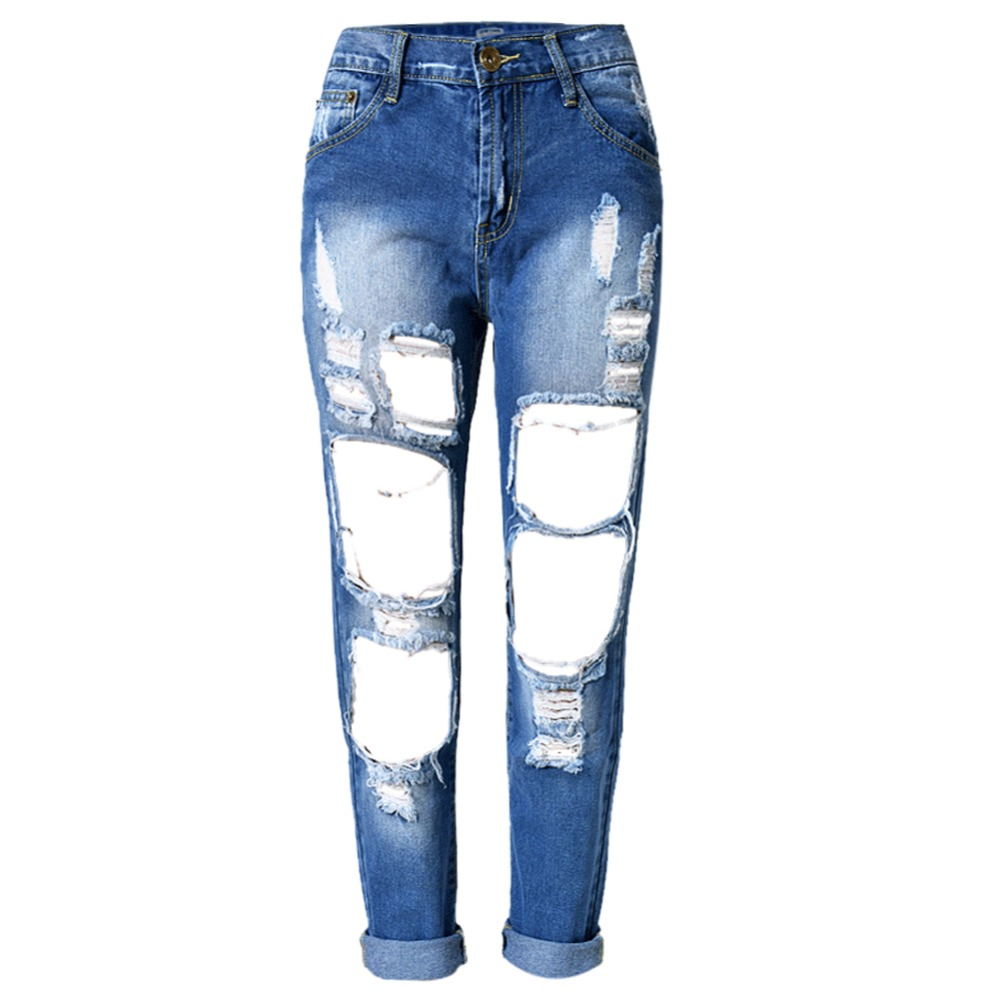 Fully Ripped Jeans - Jeans Am