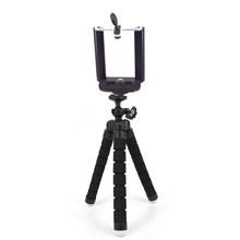 Tripés para câmera do telefone Móvel titular Clipe de smartphones monopé stand tripe polvo mini tripé stativ Para iPhone Xiaomi Huawei(China)