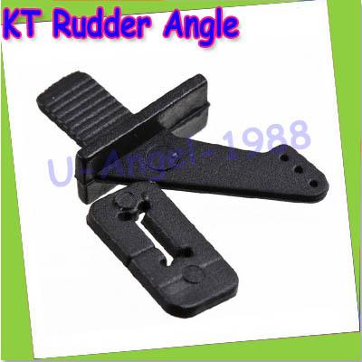 Wholesale 10set/lot Servo accessories black ultralight rudder angle plug KT KT rudder angle RC Airplane RC aircraft parts