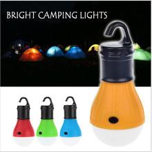 Emergency Camping Tent Lamp Soft White Light LED Bulb Lamp Portable Energy Saving Lamp Outdoor Hiking Camping Lantern(China (Mainland))
