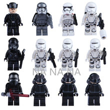 12Pcs Star Wars 7 Minifigures The Force Awakens Kylo Ren Captain Phasma Building Blocks Set Figures Bricks Toys Lego Compatible(China (Mainland))