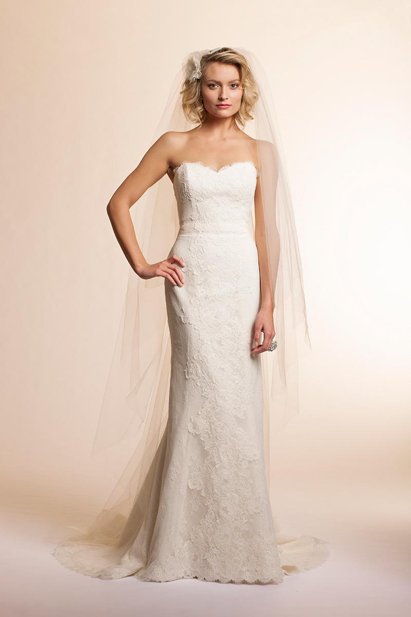 Backless sleeveless sweetheart floor length off the for Backless sheath wedding dresses