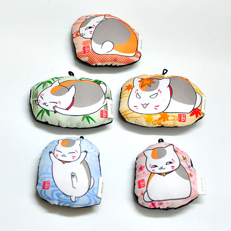 1 Piece kawaii 7CM new arrival multiple color Japanese Cartoon Character Cats small plush Cats plush Cats pendant 0066(China (Mainland))