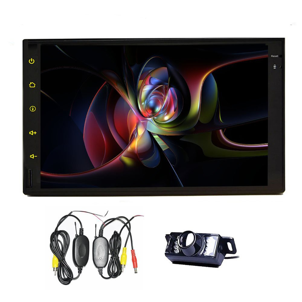 """Wireless Camera+Capactive 7""""inch 2 din Android 4.2 Car NO DVD Player GPS Navigation PAD MID Tablet 3G WiFI HD PC In dash Radio(China (Mainland))"""
