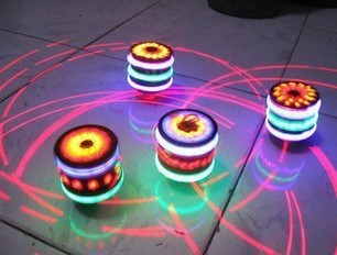 Light-up toy spinning top luminous spinning top flash spinning top laser line spinning top colorful spinning top