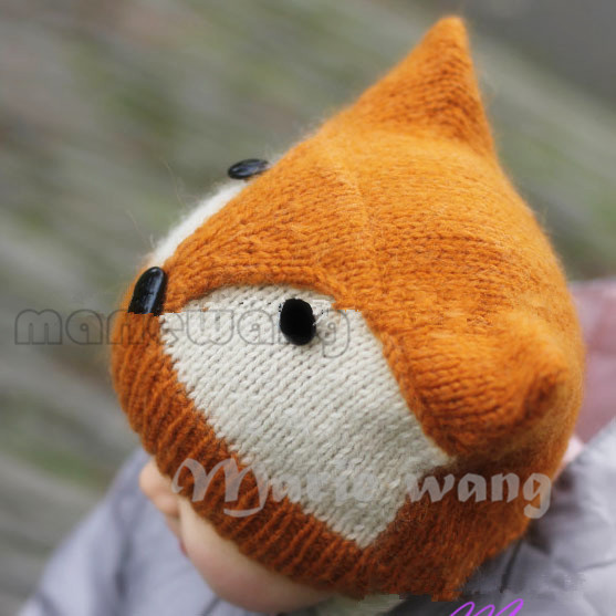 hat skull Picture - More Detailed Picture about New style Handmade Knitted Ba...