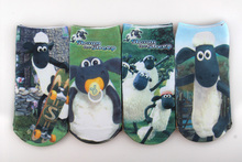 2016 Wholesale Free shipping 6 pairs high quality  cotton cartoon children socks girls kid at factory prices cartoon socks(China (Mainland))