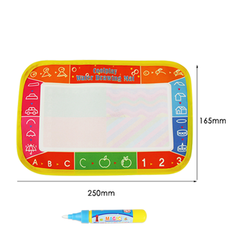 Water Drawing Painting Aquadoodles Mat Aquadraw Boards Pen Kids Children Toys(China (Mainland))