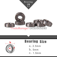 Brand new imported bearings2.5*5*1.5