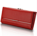 TEXU 9 colors New Women purse Brand Design Solid hasp cluth PU Leather Wallet Women Wallets