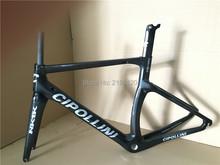 Buy 2016 CIPOLLINI NK1K carbon bicycle road frame, carbon bike frameset, T1000 carbon super light, black/silver logo glossy matte for $513.98 in AliExpress store