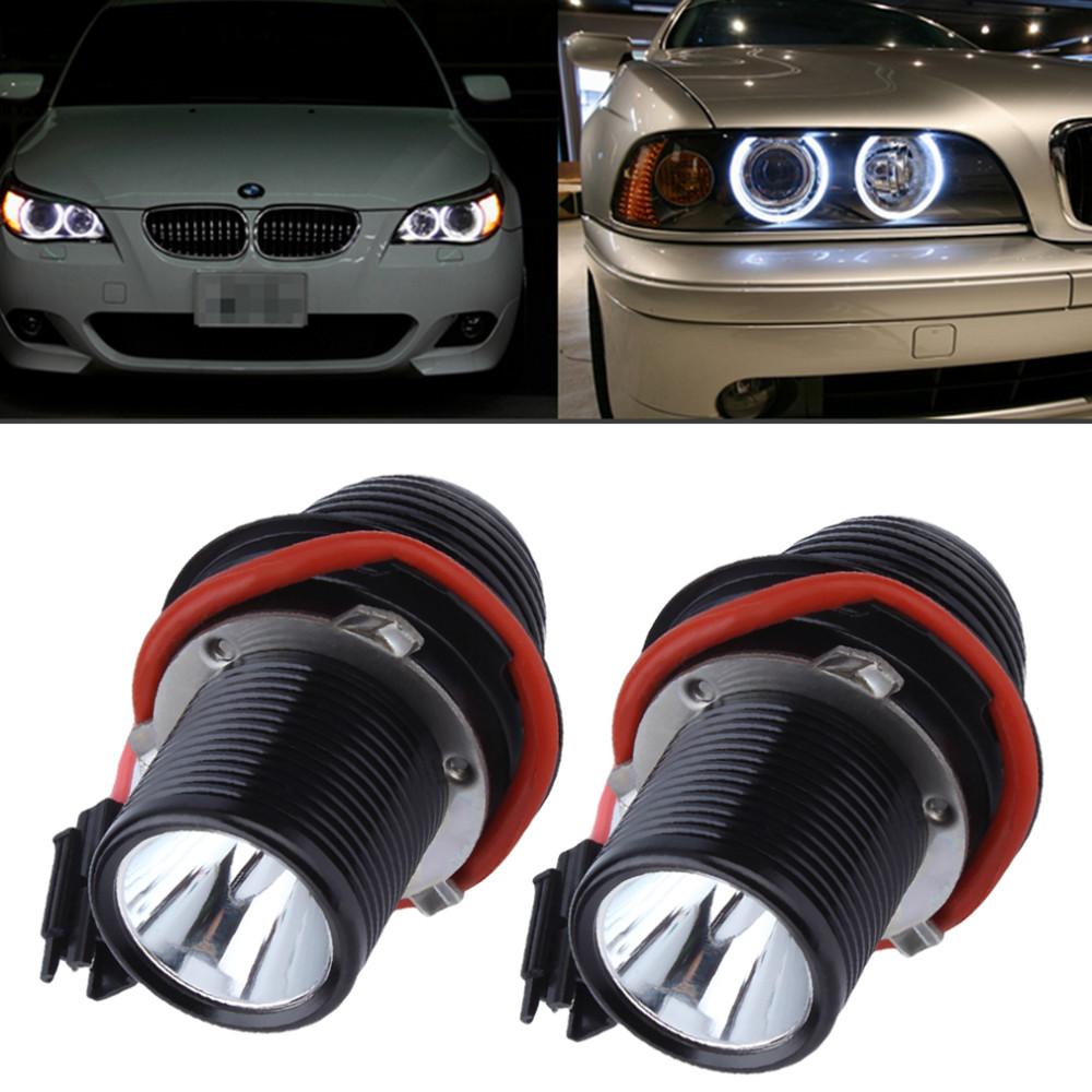 Купить 2016 Высокое Качество 10 Вт СВЕТОДИОДНЫЙ Ангел Глаз Halo Света Для BMW E39 E60 5-Series M5 X5 E53 E63 E65 X3