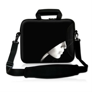 "Free Shipping,Hot 15""15.6"" Cute Girl Design Laptop Cover Shoulder Bag Sleeve Case Handle Pouch For Acer Lenovo"