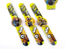 20pcs/lot  cartoon Despicable Me slap watch for Kids Fashion cute children cartoon watches