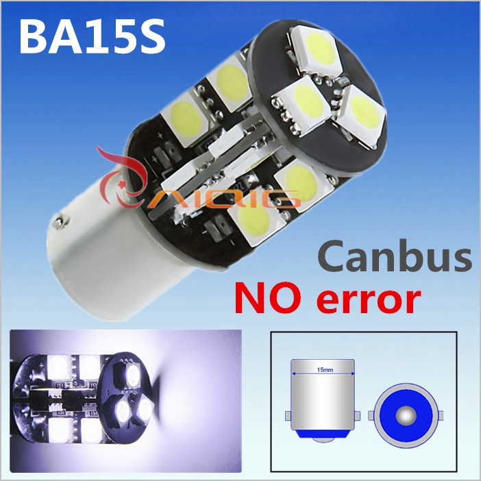 1156 BA15S 19 SMD CANBUS OBC Error Free Car LED lamp p21w R5W led bulbs Reverse Lights Light Source parking 12V - Guang Zhou Ming Zhi Technology co., LTD store