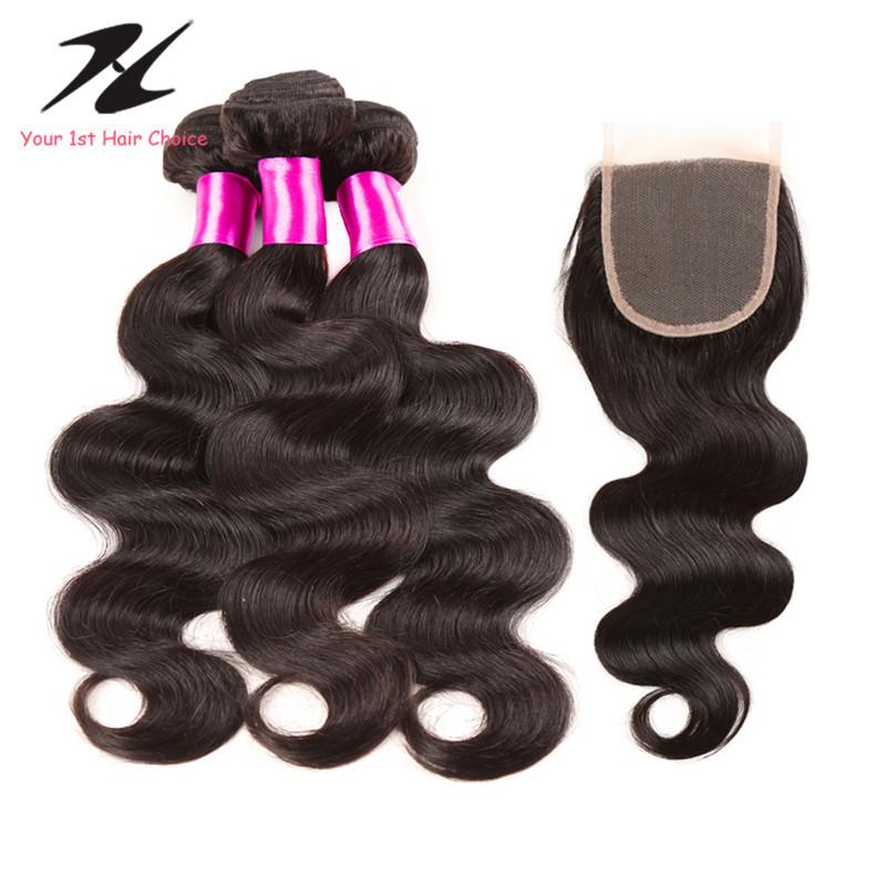 Peruvian Virgin Hair Body Wave With Closure Ms Lula Hair With Closure And Bundles Cheap Peerless Peruvian Body Wave With Closure<br><br>Aliexpress
