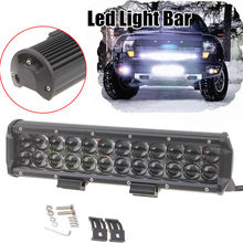 8/12/18/30/60/90/120W LED Work Light Bar Driving Fog Lamp Flood/Spot/Combo Beam For ATV SUV Offroad Truck Tractor Boat Lighting(China (Mainland))