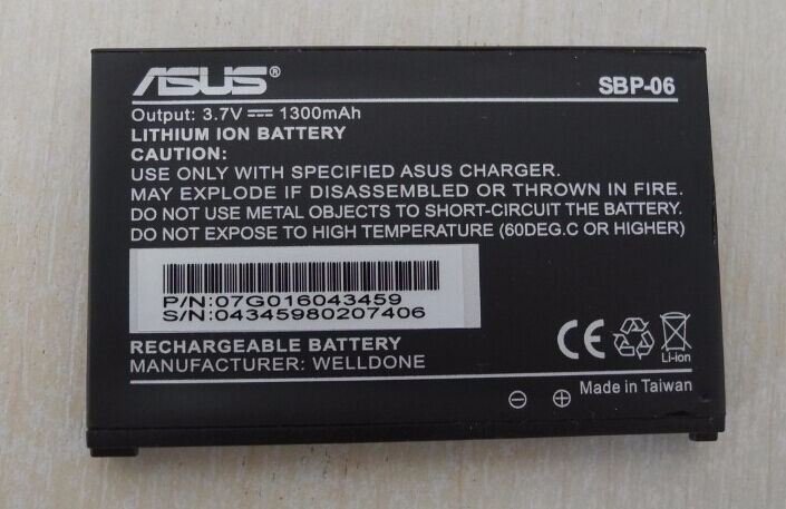 Free shipping high quality mobile phone battery SBP-06 for ASUS P535