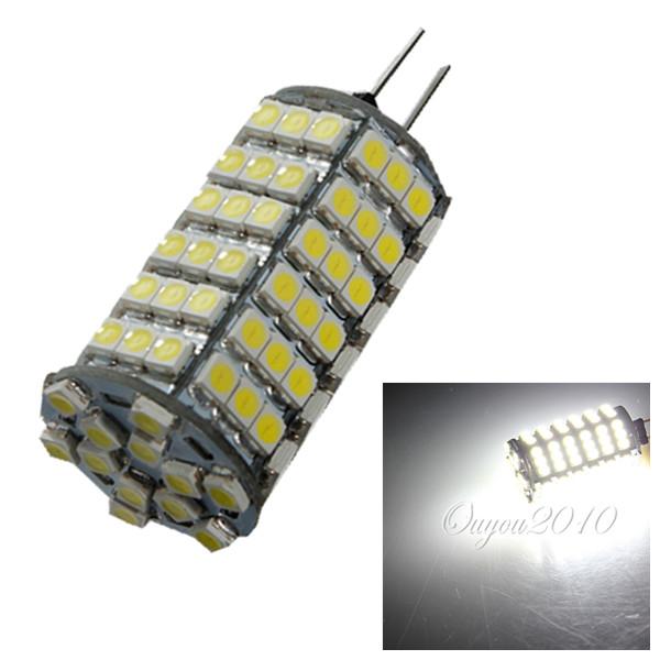 Excellent Quality G4 5.5W 120 SMD 3528 LED Energy Saving Spotlight Corn Light Lamp Bulb Pure White 720LM DC12V<br><br>Aliexpress