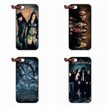 For iPod Touch 4 5 HTC One M7 M8 LG G2 G3 G4 Samsung Galaxy S3 S4 S5 S6 Mini Note 3 4 Metal Vocal Band Nightwish Cover Case(China (Mainland))