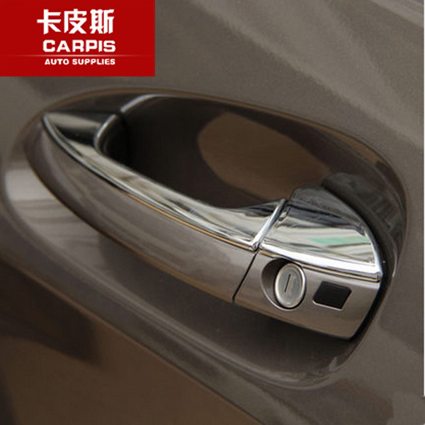 ABS Chrome Car Door Handle Stickers Cover Trim For Mercedes Benz ML350 320 300 400 2012 2013 2014 2015,Car Chromium Styling<br><br>Aliexpress
