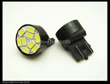 Buy 4pcs/lot New Arrival car led lighting T20 W21W 9 leds 7443 9 leds SMD 5630 5730 turn signal bulb Free for $11.30 in AliExpress store
