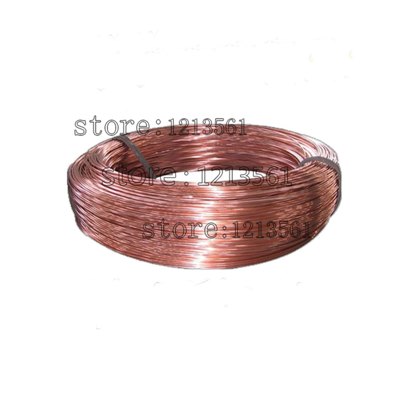 New 0.8mm 20 Gauge Soft Pure Solid Bare Copper Bright Wire Coil for Jewelry Crafts Making 20m or 40m DIY Natural Red Copper Wire(China (Mainland))
