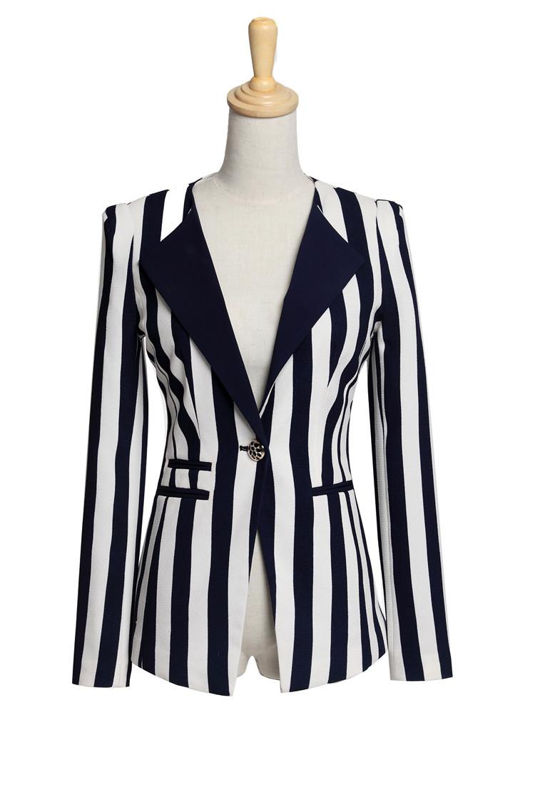 New Uniform Style Women Work Wear Formal Blazers Fall Winter