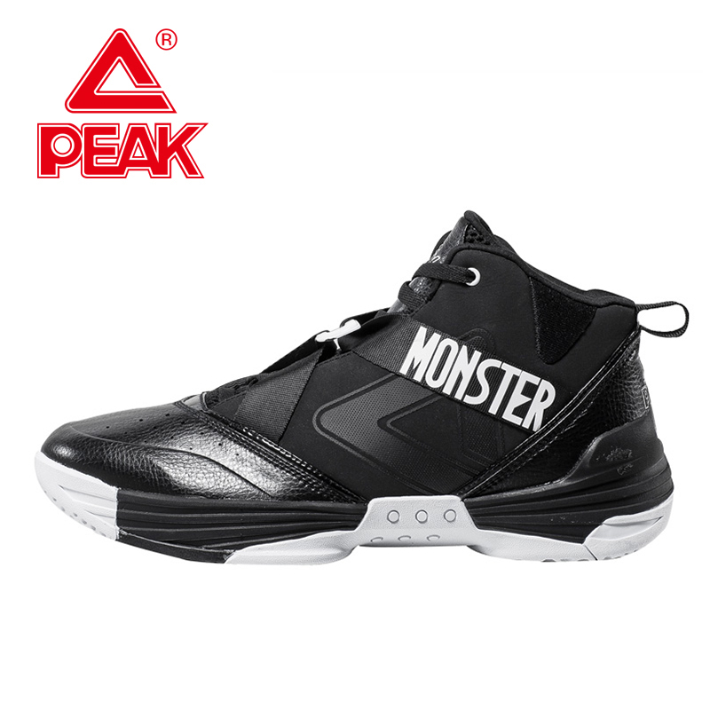PEAK SPORT Monster I Men Basketball Shoes Professional FOOTHOLD Cushion-3 Tech Athletic Boots Breathable Sneakers Szie EUR 40-47(China (Mainland))