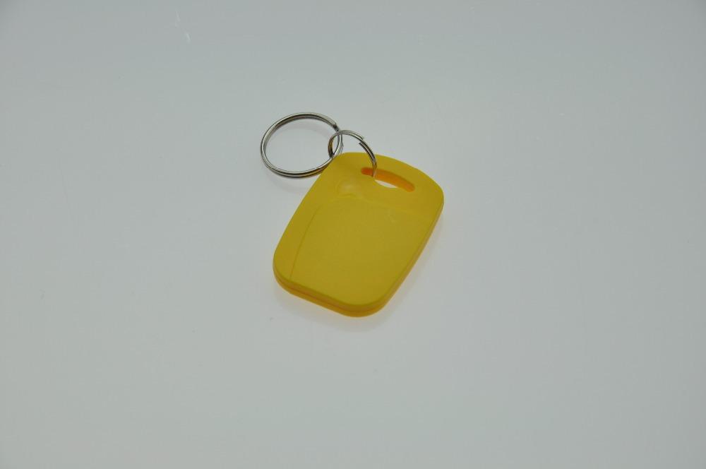 Free shipping 10pcs/lot 125khz EM proximity access control card rfid keyfob keytag(ST-AB06)(China (Mainland))