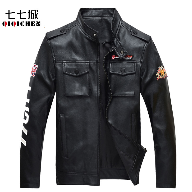 Popular Mens Leather Jacket Designs-Buy Cheap Mens Leather Jacket ...