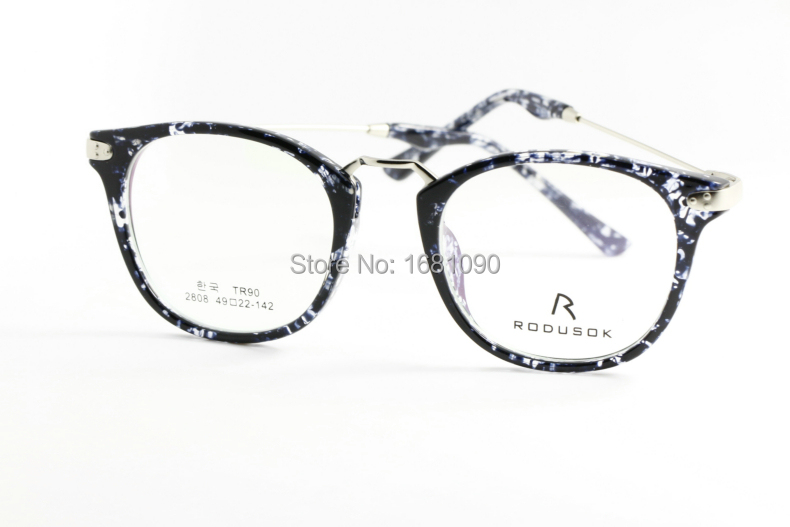 Eyeglass Frames Popular Styles : 2015 New Fashion Tr 90 Glasses free Shipping Full rim ...