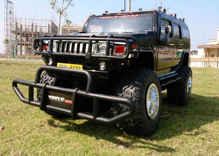 1:6 scale remote control rc suv cars Hummer off-road vehicle 8 channel model Large size:70*33*37cm(China (Mainland))
