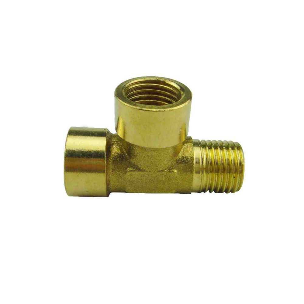 Free shipping quot brass tee gas pipe fittings