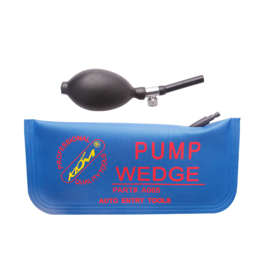10pcs KLOM PUMP WEDGE Airbag New for Universal Air Wedge ,LOCKSMITH TOOLS lock pick set.door lock opener bump key padlock blue(China (Mainland))