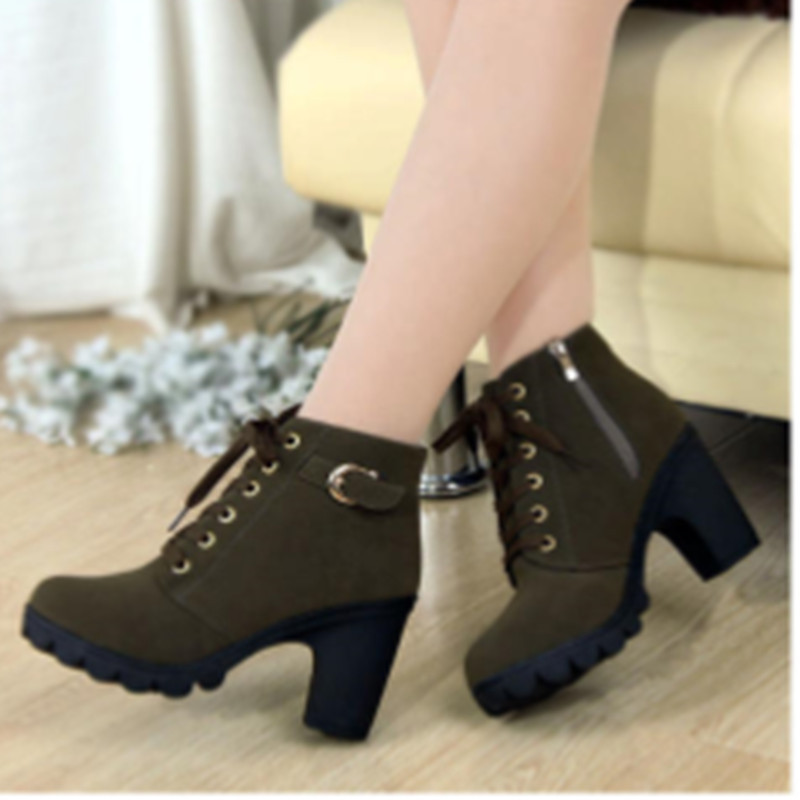 heel boots for women