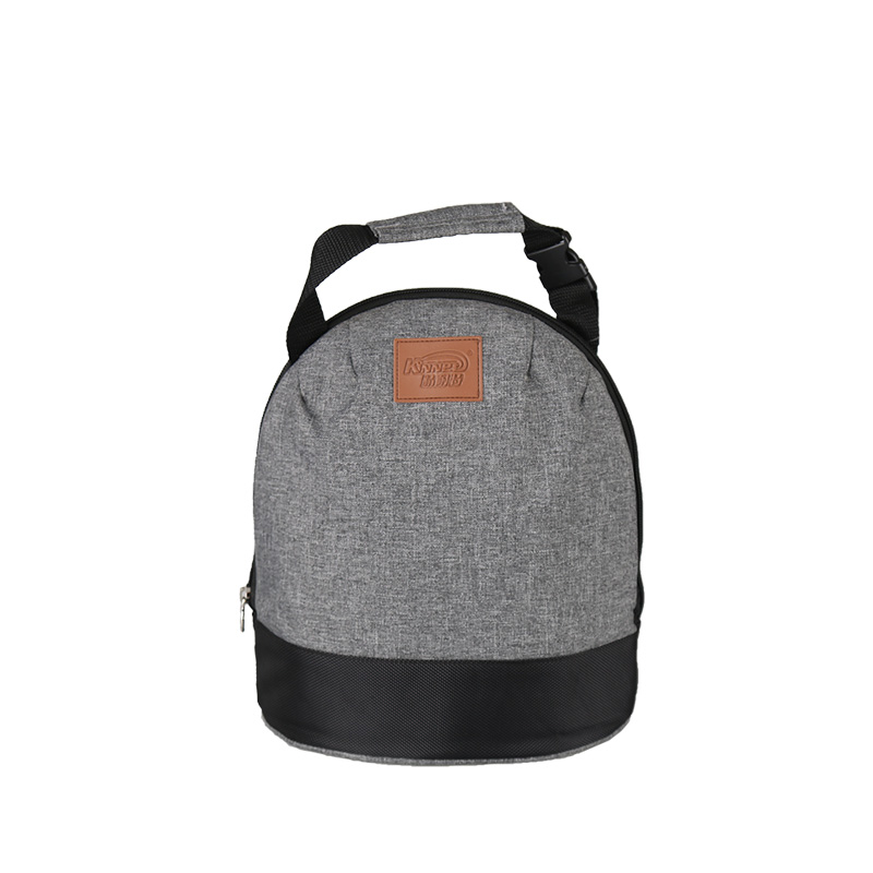 Fashion Shoulder Insulated Lunch Bag for Men Cool Mustache Thermal Lunch Box Cooler Lunch Bag Picnic Food Bag LI-1773
