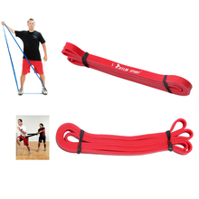Latex Crossfit resistance bands fitness body gym power training powerlifting pull up red for wholesale free shipping kylin sport(China (Mainland))