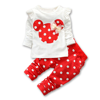 Baby girls clothing sets 2015 winter children's wear cotton casual tracksuits clothes sports suit. children's suit(hoodie+pants)