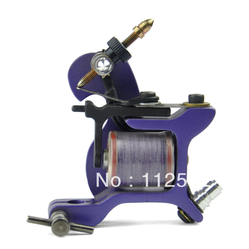 hot cast iron single coil professional fight fog hook line one tattoo machine free shipping in. Black Bedroom Furniture Sets. Home Design Ideas