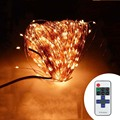 Indoor Outdoor Wireless Control 164Ft 50M 500 LED String Lights Power Adapter