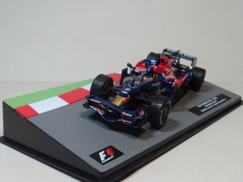 ix o 1:43 TORO ROSSO STR3 2008 F1 Red Bull Racing boutique alloy car toys for children kids toys Model Original packaging(China (Mainland))