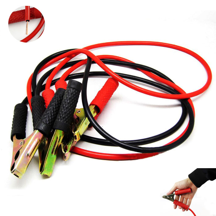 Exquisite 2x2M Car Booster Battery Jumper Booster 200 AMP Jump Start Cable(China (Mainland))